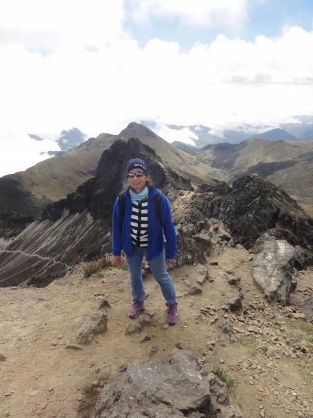 Pinchincha 4696m. EQUATEUR